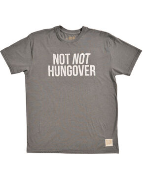 Original Retro Brand Men's Not Not Hungover Tee, Charcoal, hi-res