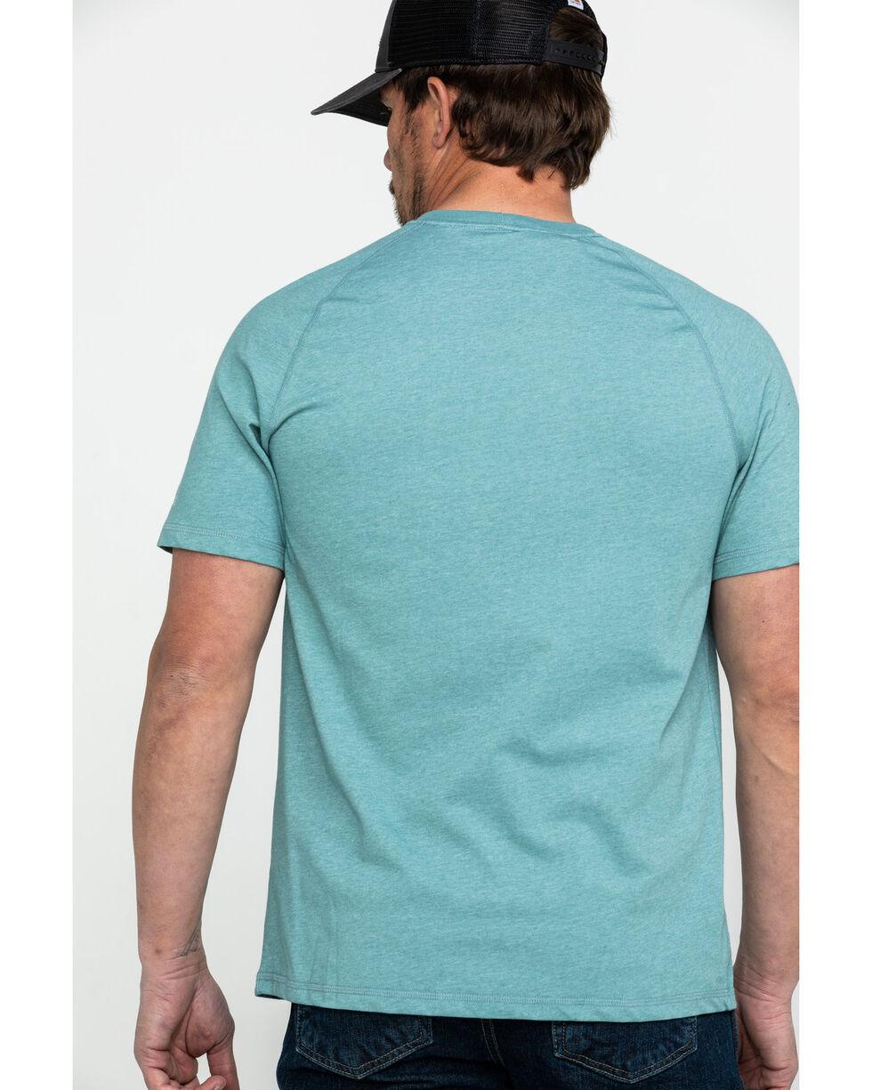 Carhartt Men's Force Short Sleeve T-Shirt, Heather Grey, hi-res