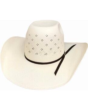 Bullhide Men's 100X Tyler Harr Hot Streak Straw Hat , Natural, hi-res