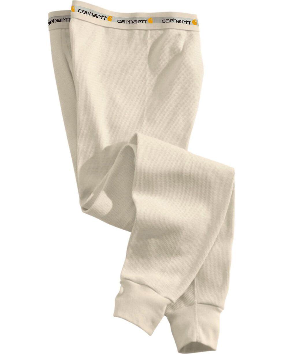 Carhartt Heavy Weight Cotton Thermal Underwear, Natural, hi-res