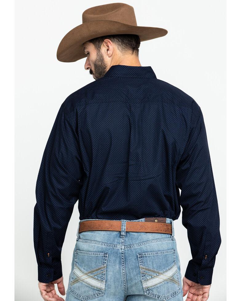 Cinch Men's Multi Dot Geo Print Plain Weave Long Sleeve Western Shirt , Multi, hi-res