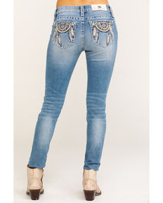 Miss Me Women's Dreamcatcher Hailey Skinny Jeans, Blue, hi-res