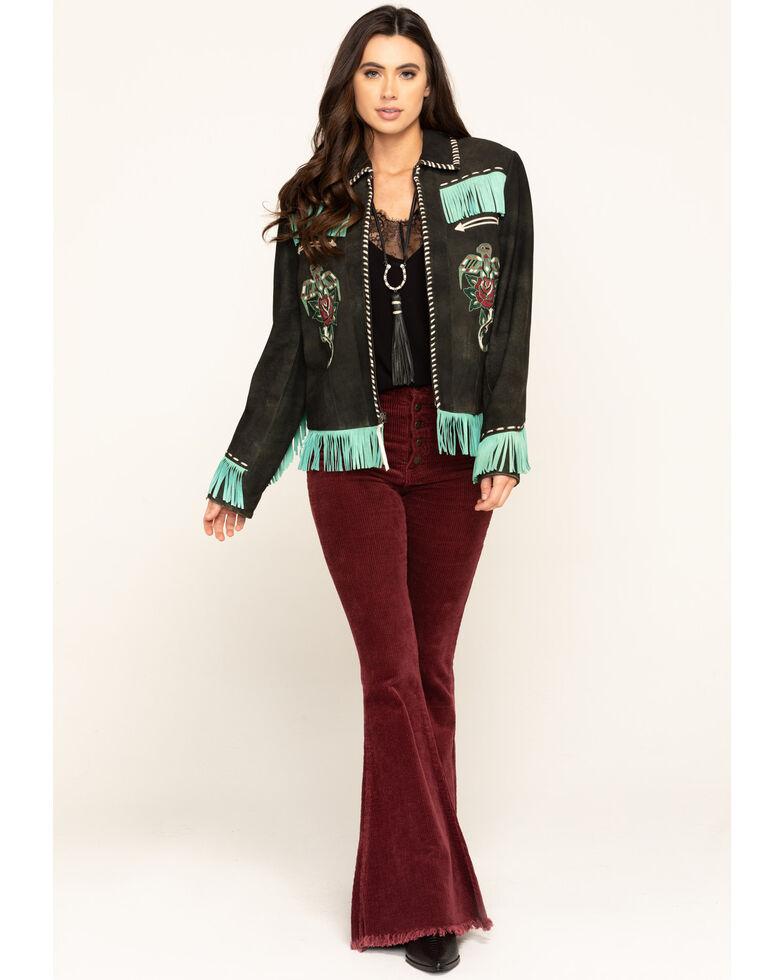 Double D Ranch Women's Herradura Jacket , Black, hi-res