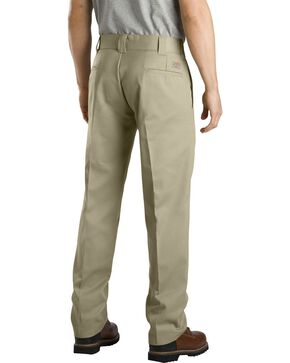 Dickies Slim Straight Work Pants, Khaki, hi-res
