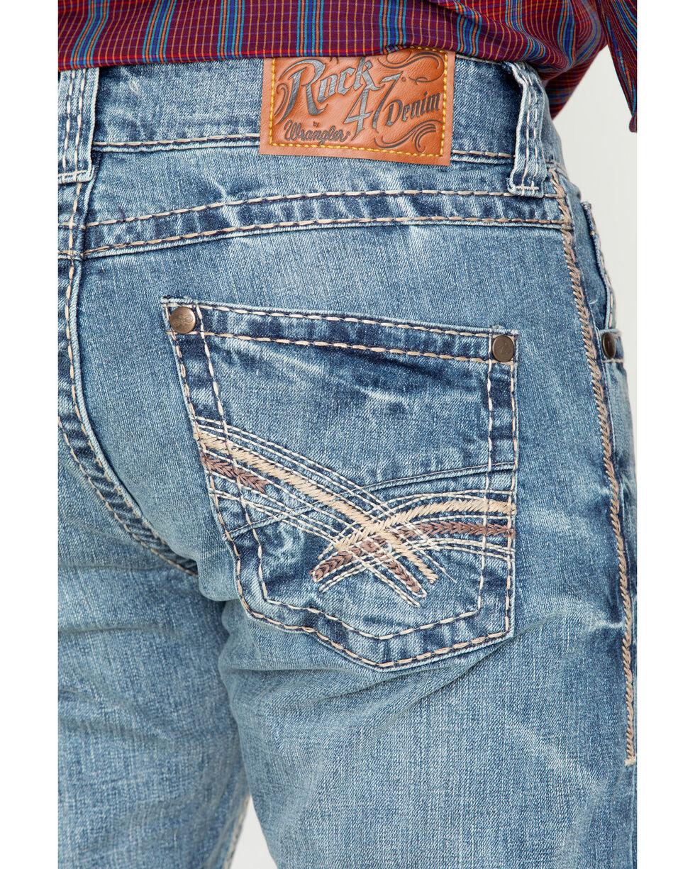 Wrangler Rock 47 Men's Denim Jeans , Blue, hi-res