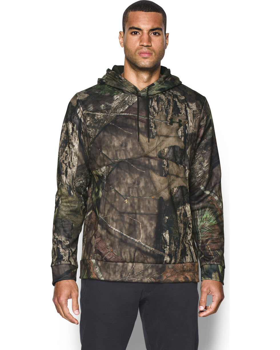 Under Armour Men's Storm Fleece Hoodie, Mossy Oak, hi-res