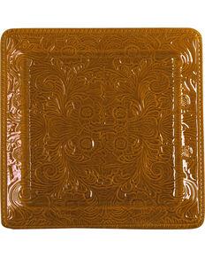 HiEnd Accents Savannah Serving Platter, Mustard, hi-res
