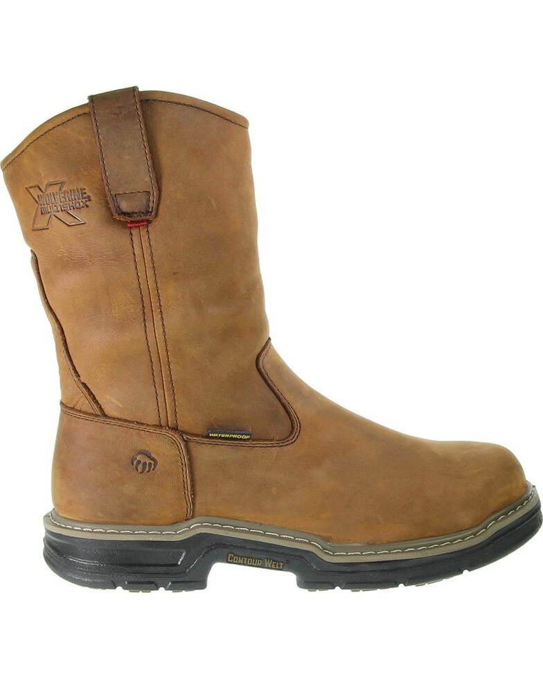 0f53c6def93 Wolverine Men's Marauder Steel Toe Wellington Work Boots