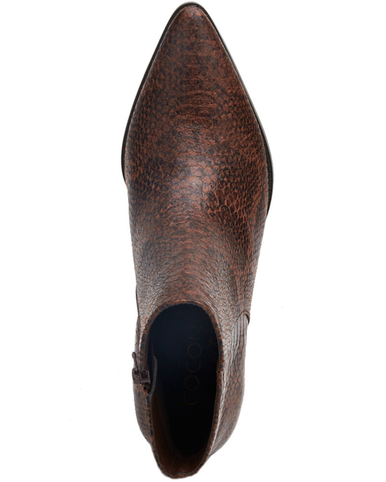 Coconuts by Matisse Women's Astoria Fashion Booties - Round Toe, Brown, hi-res