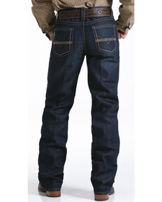 Cinch Men's Grant Mid Rise Relaxed Boot Cut Jeans, Indigo, hi-res
