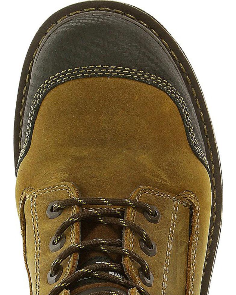 """CAT Men's Fabricate 6"""" Tough Waterproof Work Boots, Brown, hi-res"""
