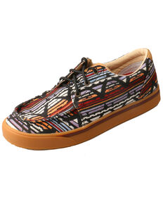 Twisted X Men's Aztec Hooey Loper Shoes - Moc Toe, Multi, hi-res