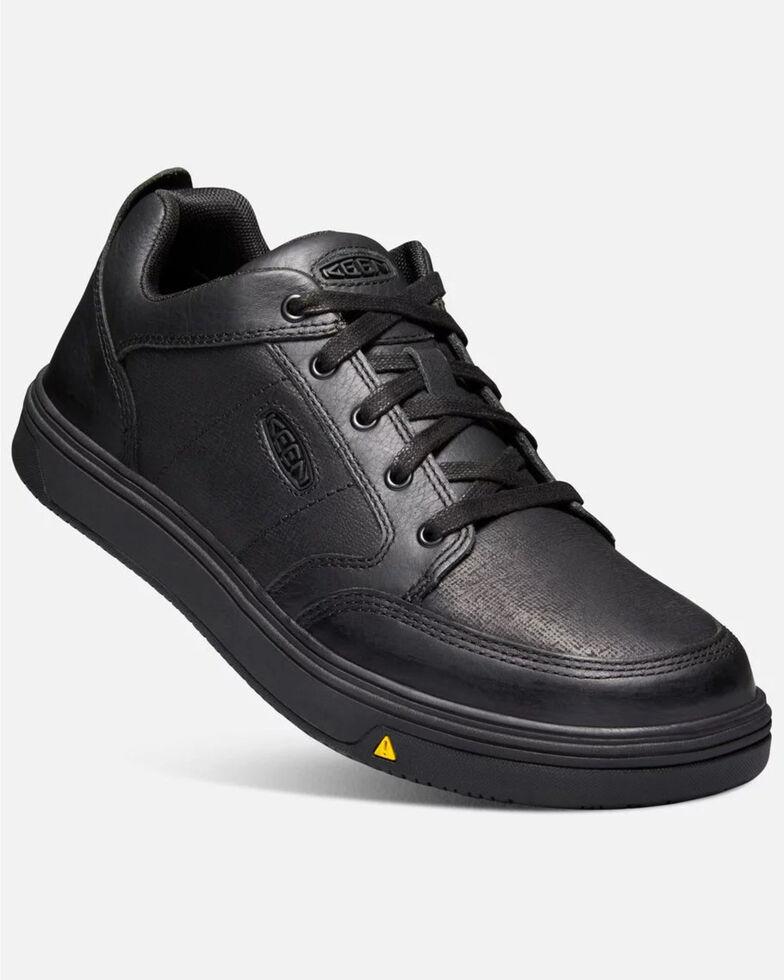 Keen Men's Redding Waterproof Work Boots - Soft Toe, Black, hi-res