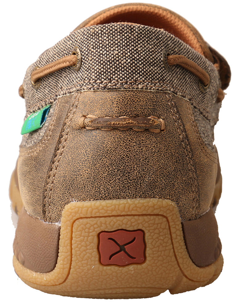 Twisted X Men's CellStretch Driving Shoes - Moc Toe, Multi, hi-res