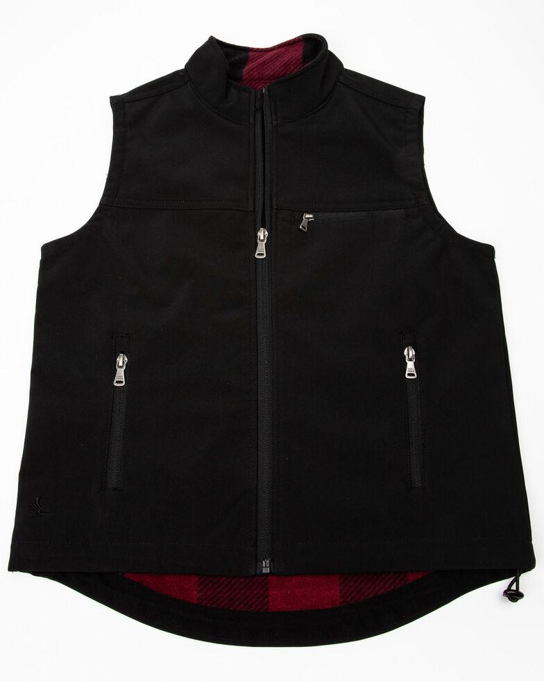 Cody James Boys' Black Wrightwood Bonded Vest , Black, hi-res
