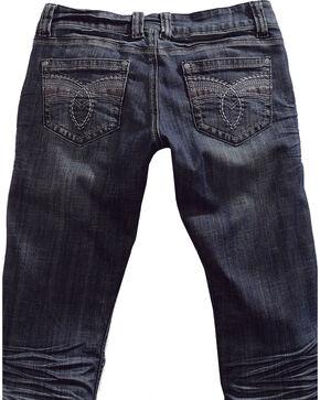 Tin Haul Women's Dolly Celebrity Deco Loop Stitch Bootcut Jeans, Denim, hi-res