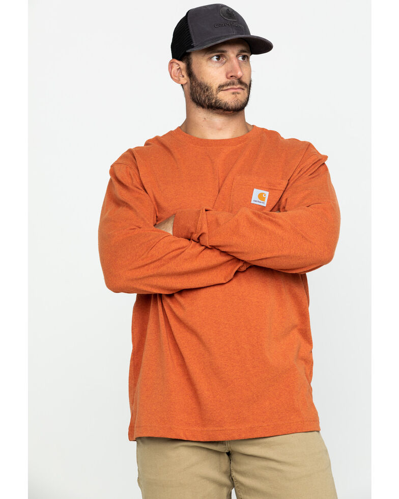 Carhartt Pocket Work Tee, Rust, hi-res