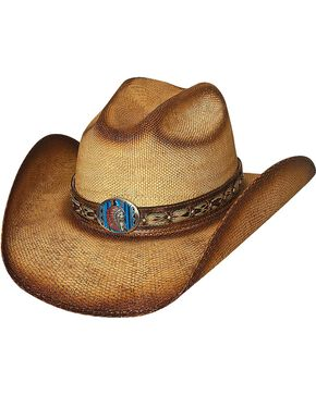 Bullhide Women's Red Cloud Straw Hat, Natural, hi-res