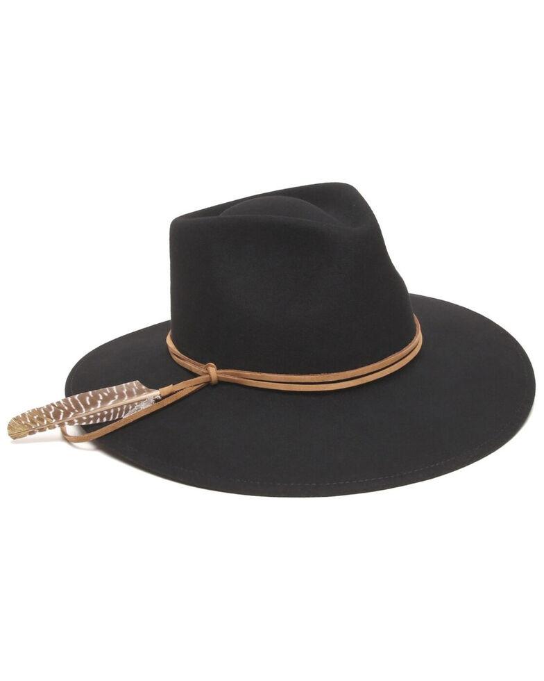 'ale by Alessandra Women's Black Leumaria Hat , Black, hi-res