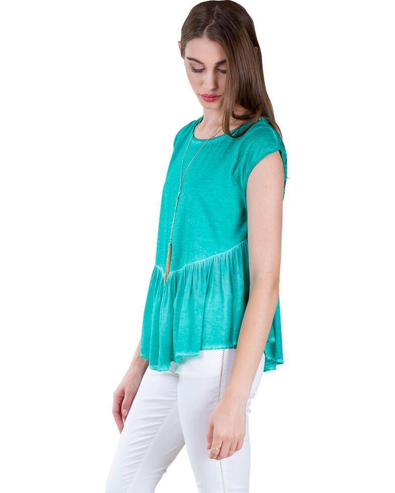 Black Swan Women's Acadia Lucie Top, Teal, hi-res