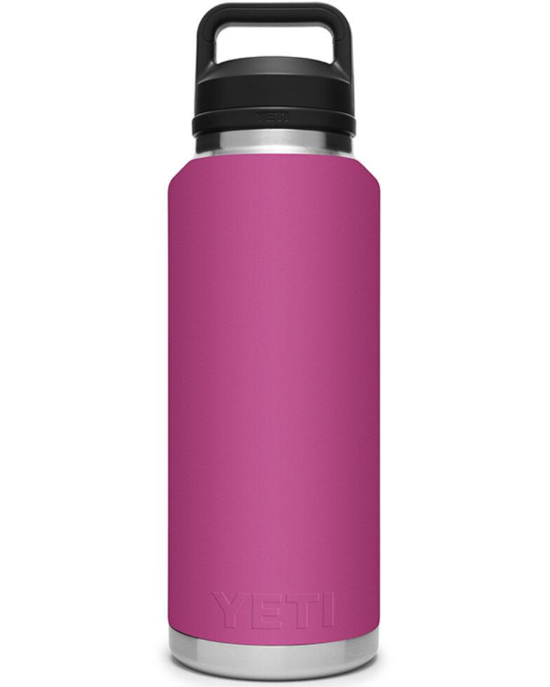 Yeti Pink Rambler 46oz Chug Cap Bottle, Pink, hi-res