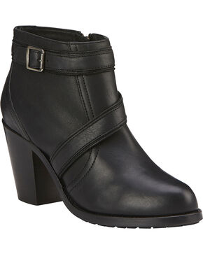 Ariat Ready to Go Boots - Round Toe, Black, hi-res