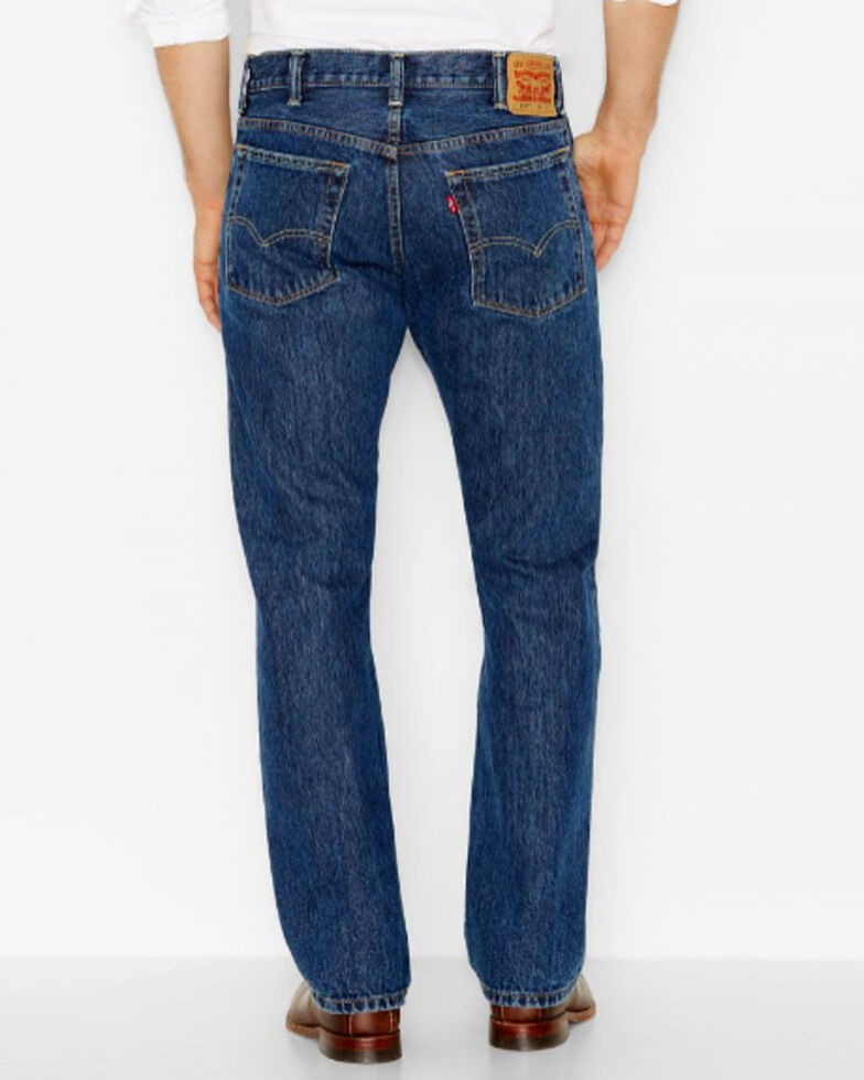Levi's Men's 517 Indigo Slim Boot Cut Jeans , Indigo, hi-res