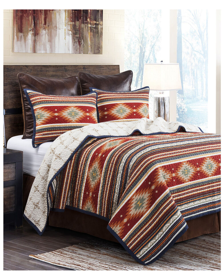 HiEnd Accents Del Sol Quilt Set - Full/Queen, Multi, hi-res