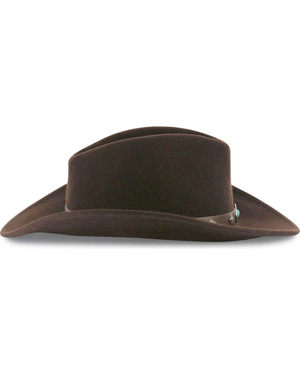 Cody James® Men's Santa Ana Wool Hat, Brown, hi-res