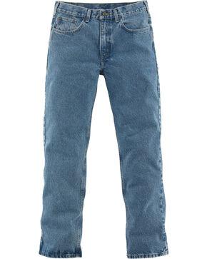 Carhartt Men's Relaxed-Fit Straight Leg Jeans, Lt Denim, hi-res