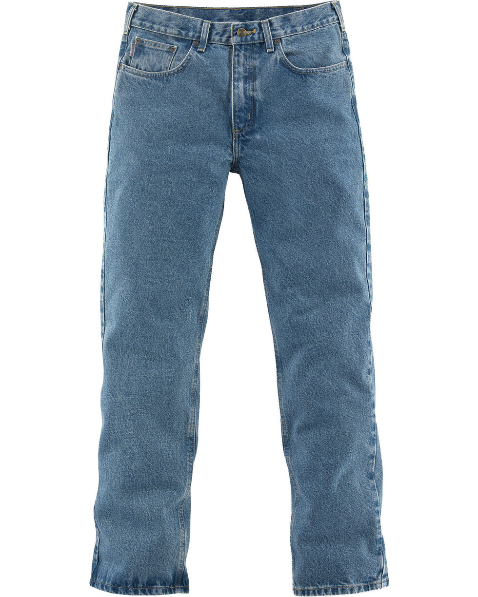 Carhartt Men's Relaxed-Fit Straight Leg Jeans, Lt Denim, hi-res