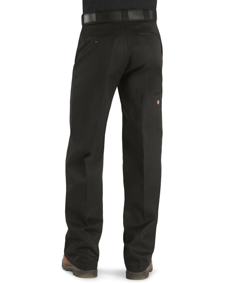 Dickies Men's Loose Fit Double Knee Work Pants, Black, hi-res