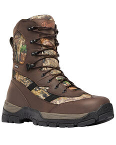 "Danner Men's Mossy Oak Alsea 8"" Lace Up Waterproof Boots - Round Toe, Camouflage, hi-res"