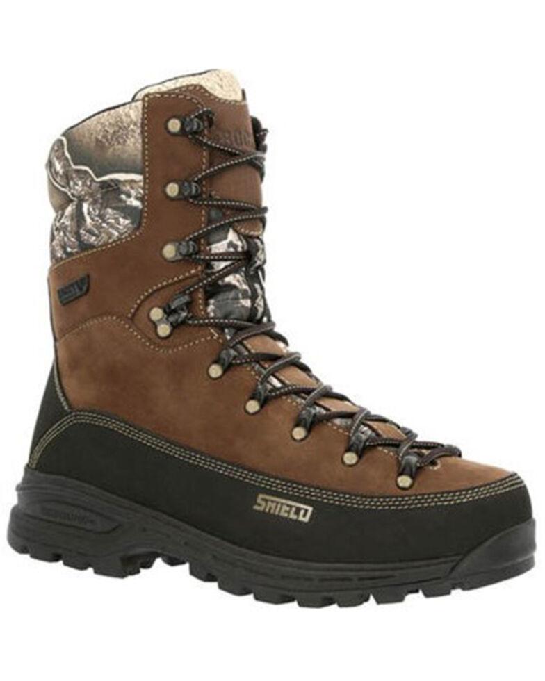Rocky Men's MTN Stalker Pro Waterproof Hiking Boots - Soft Toe, Camouflage, hi-res