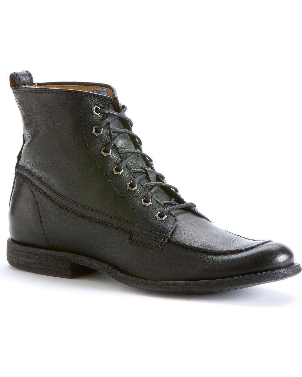 Frye Men's Phillip Work Boots - Round Toe, Black, hi-res