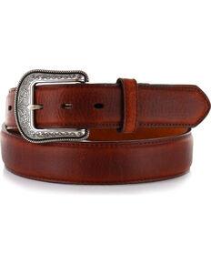 3D Men's Genuine Leather Belt, Brown, hi-res