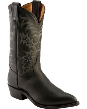 Tony Lama Men's Americana Pointed Toe Western Boots, Black, hi-res