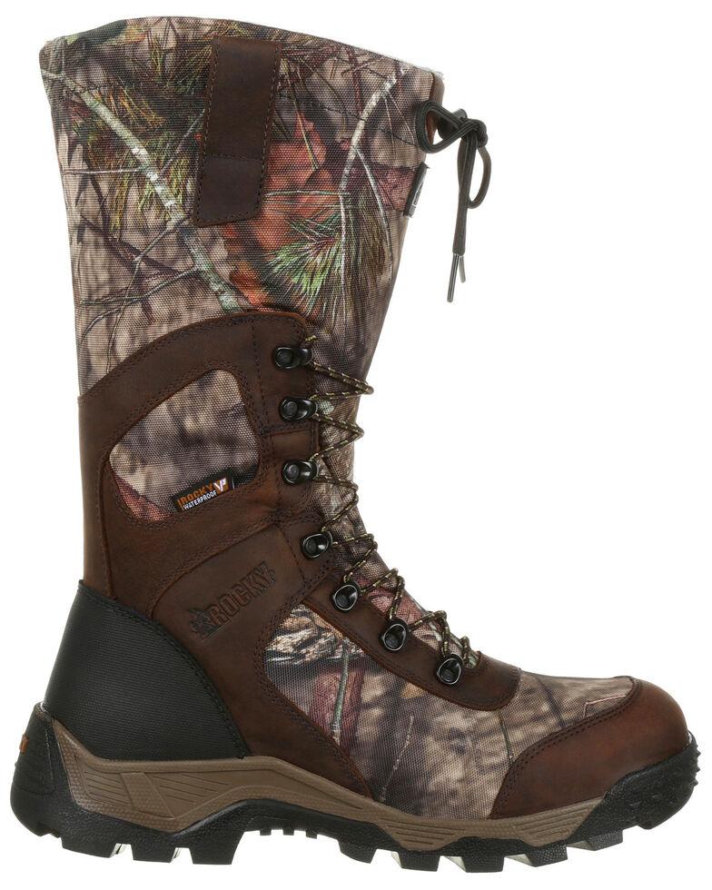 Rocky Men's Sport Pro Timber Stalker Waterproof Outdoor Boots - Round Toe, Camouflage, hi-res