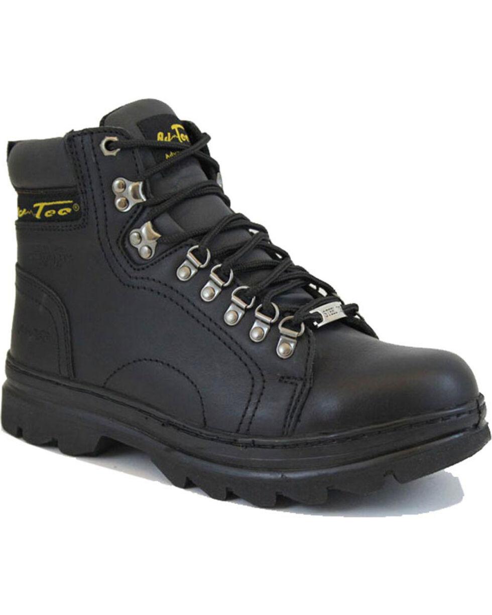 Ad Tec Mens 11 Harness Motorcycle Boot Black, Numeric/_12 Black