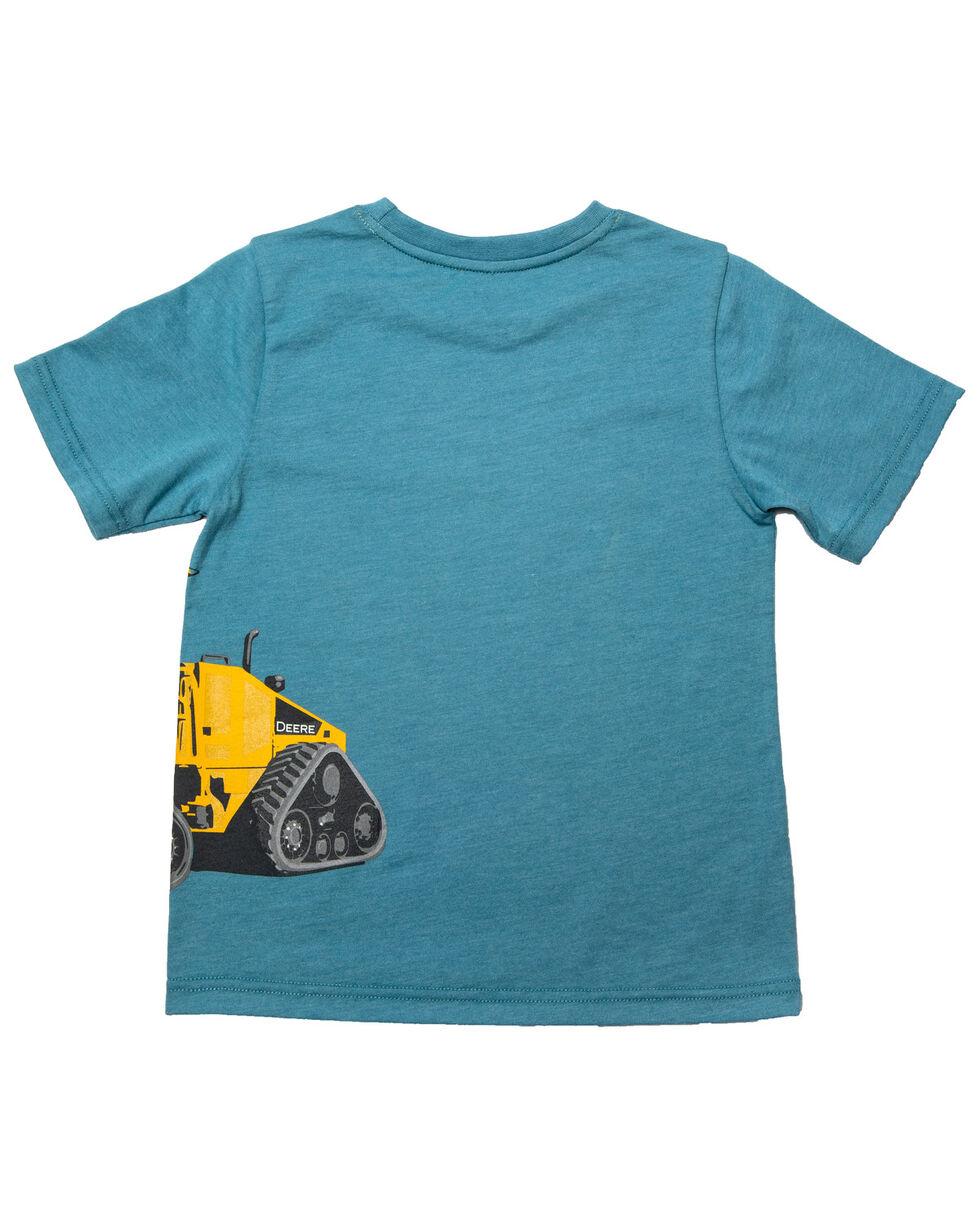 John Deere Boys' Large Dozer Wrap Graphic T-Shirt , Blue, hi-res