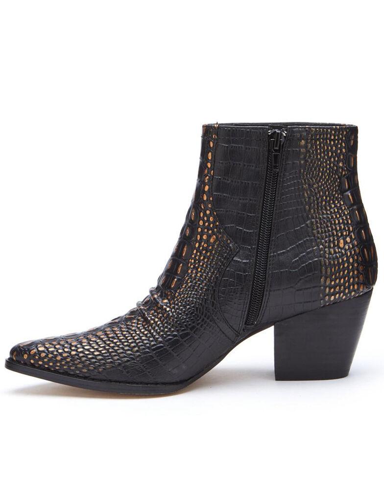 Matisse Women's Devon Fashion Booties - Pointed Toe, Black, hi-res