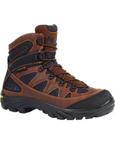 """Rocky Men's 6"""" Ridgetop Waterproof Hiking Boots, Brown, hi-res"""