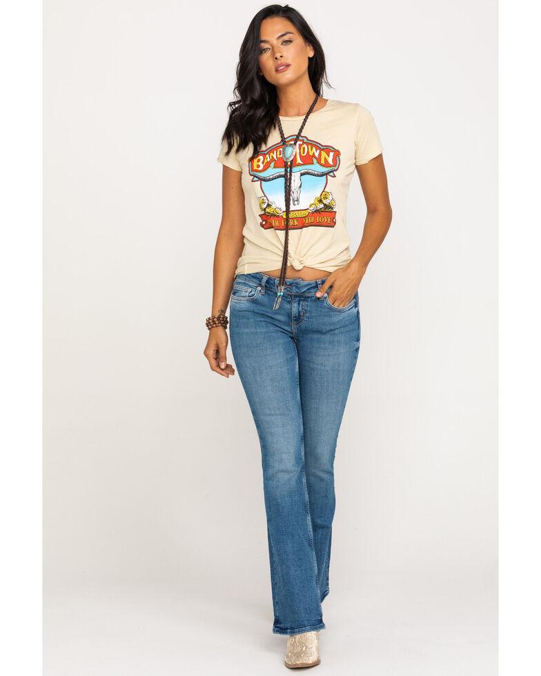 Free People Women's Heirloom Bootcut Jeans , Blue, hi-res