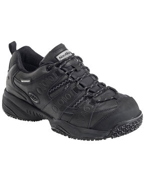 Nautilus Men's Waterproof Athletic Work Shoes - Composite Toe, Black, hi-res