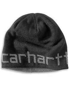 Carhartt FR Polartec Reversible Knit Cap, Black, hi-res