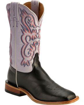 Tony Lama Women's Americana Western Boots, Black, hi-res