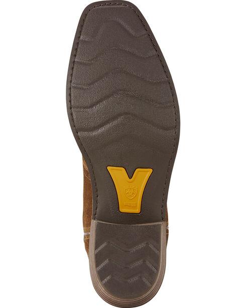 Ariat Men's VentTEK Roughstock Square Toe Western Work Boots, Copper, hi-res