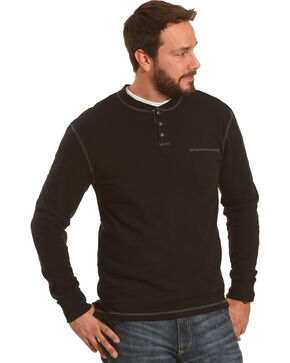 Moonshine Spirit Men's Amplitude 2 Long Sleeve Shirt , Black, hi-res