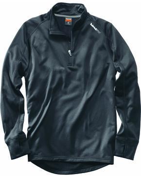 Timberland Pro Men's Understory 1/4-Zip Fleece Shirt, Grey, hi-res