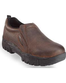 Roper Women's Sport Slip-On Shoes, Brown, hi-res